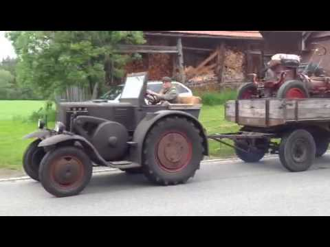 35 er Eilbulldog Lanz Bulldog mit Hanomag R55