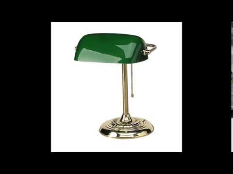 Ledu L557BR Traditional Banker's Lamp Review
