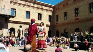 preview picture of video 'Gegants Nou Barris(2)'