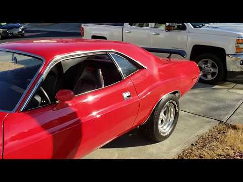 Video of '73 Dodge Challenger located in Raleigh North Carolina Offered by a Private Seller - PBV4