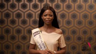 Introduction Video of Iman Mkwanazi Miss South Africa 2017 Contestant from Lenasia, Gauteng