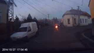 preview picture of video 'behajtani tilos Sátoraljaújhely motoros gyakorlás'