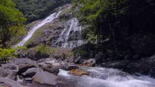 KAGOSHIMA Energetic Japan ?Waterfall Relaxation 60min 4K