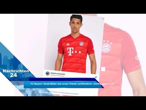 FC Bayern: Vorab-Bilder des neuen Trikots veröffentlicht - künftig ganz in rot?