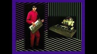 Beat Ratio - Electric Devolution  (80s Retro music video)  Roland SH-101  TR-808  Robot Keytar &