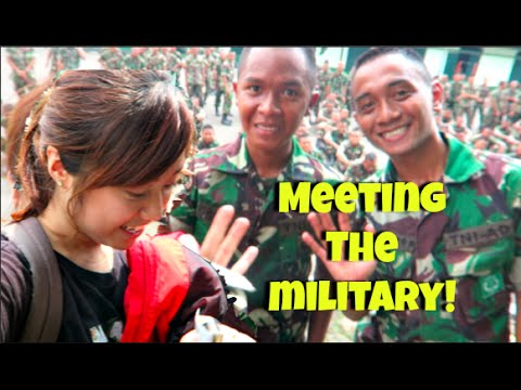 Meeting the Indonesian Military