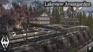 LAKEVIEW AVANTGARDEN: Player Home Mod!!- Xbox Modded Skyrim Mod Showcase