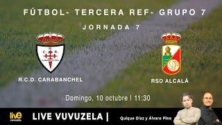 R.F.F.M. - TERCERA DIVISIÓN RFEF - Jornada 7: Real C.D. Carabanchel 0-1 R.S.D. Alcalá S.A.D.