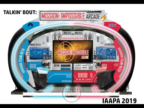 Talking Mission: Impossible Arcade by Sega