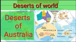 Deserts of world #deserts of Australia #upsc,#cds,#nda