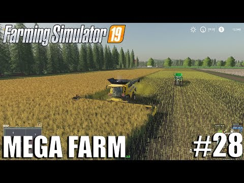 MEGA FARM Challenge | Timelapse #28 | Farming Simulator 19