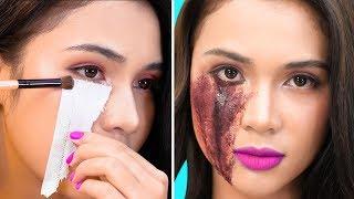 7 Maquillaje Halloween Terroríficos Mujer Fácil 2019 👻 Best Makeup for Halloween | T-STUDIO ES