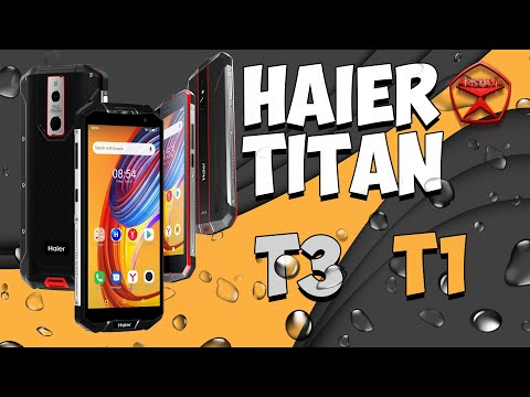 Тест в воде и обзор Haier Titan T1 и Haier Titan T3 / Арстайл /