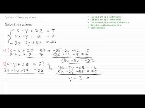Solving Linear Systems p3