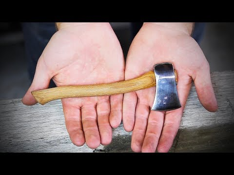 How to Make a Tiny Axe
