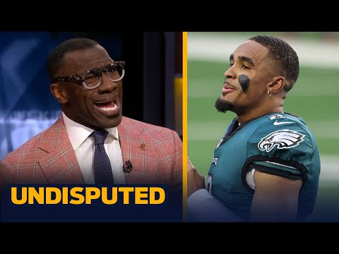 Shannon on Eagles pulling Hurts against Washington, 'What the hell was that?' | NFL | UNDISPUTED