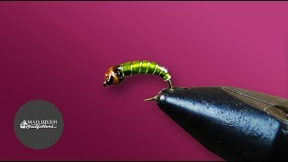 STUPIDLY SIMPLE CADDIS LARVA: Fly Tying Tutorial