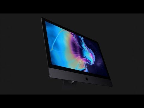 This is the new iMac Pro!
