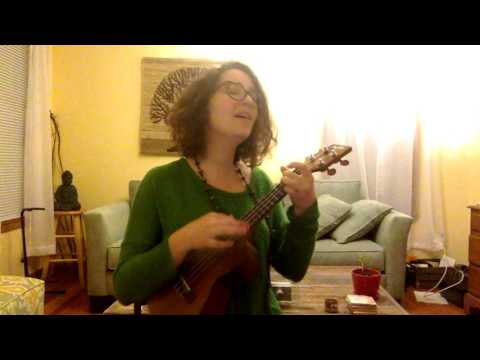 Here's a cover of Leonard Cohen's song, Hallejuah, live from my living room.
