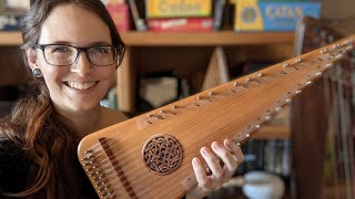 How to Change Strings and Clean Up a Vintage Bowed Psaltery from Unicorn Strings