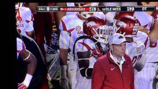 Arkansas Razorbacks Hunter Henry Lateral Vs Ole Miss 2015