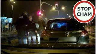 Pijany kierowca, nieustępliwość, zatrzymanie przez policję i kolizja #183 Wasze Filmy
