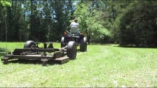 Homemade RC Lawn Mower - hmong video