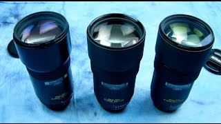 Angry Photographer: 3 Diff. lenses that are the same lens. 180mm 2.8. Many such lenses are like this