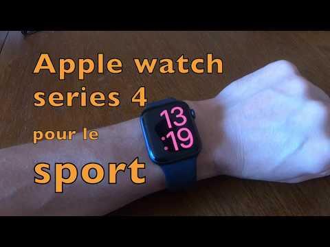 Apple Watch series 4 pour faire du sport