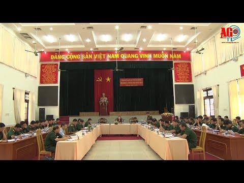 Đảng ủy Quân sự tỉnh tổ chức hội nghị lãnh đạo thực hiện nhiệm vụ  6 tháng cuối năm 2018