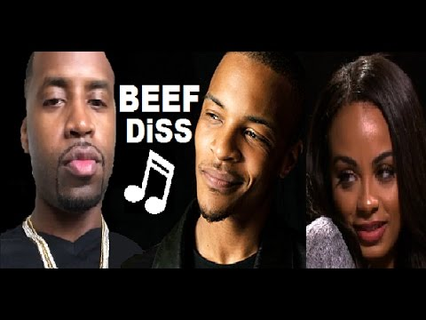 T.I. & Safaree BEEF & Safaree Makes a DiSS SONG & face off at Hip Hop Squares (BEEF Explained)