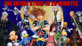The Entire Story of Kingdom Hearts in Under 20 Minutes - dooclip.me