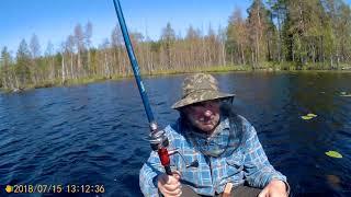 Рыбалка на кимасозеро