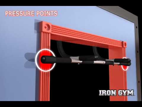 Iron Gym Total Upper Body Workout Door Gym - Installation
