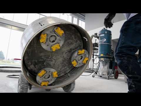 Polished Concrete at Daytona Auto by TTM Finishes Inc.