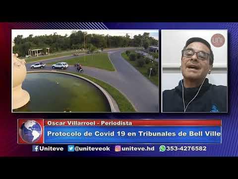 Se activó el protocolo en Tribunales de Bell Ville