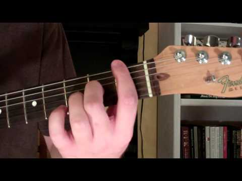 How To Play the F6 Chord On Guitar (F sixth) 6th