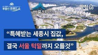 특혜받는 세종시 집값, 결국 서울 턱밑까지 오를것