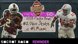 The 2003 Fiesta Bowl's climactic moment deserves a deep rewind | Ohio State vs Miami thumbnail