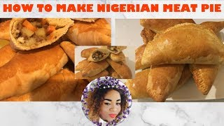 ✔️HOW TO MAKE NIGERIAN MEAT PIE FROM THE SCRATCH  |AMAKA NJOKU|