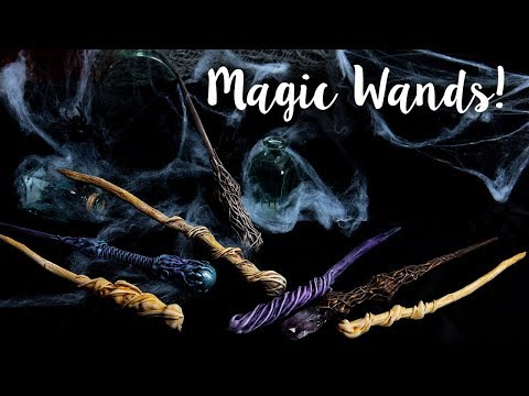 How to Make Magic Wands - Sizzix