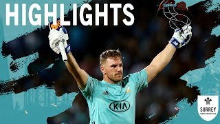 Record breaking night of T20 cricket! Highlights of T20 Blast v Middlesex