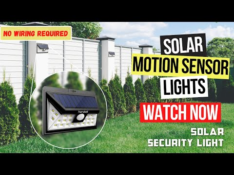 24 Solar LED Gate Light With Sensor