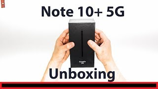 Galaxy Note 10+ 5G Unboxing (512GB)