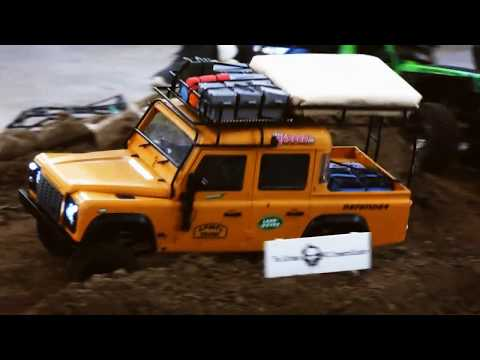 RC Off Road Cars - Off Road Course Auf Der Intermodellbau 2018