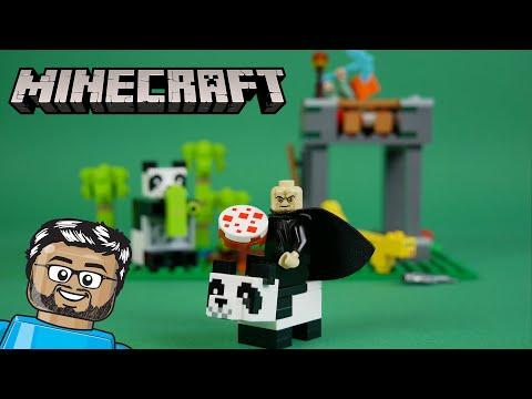 Vidéo LEGO Minecraft 21158 : La garderie des pandas