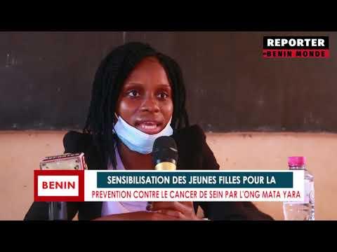 REPORTER BENIN MONDE : SENSIBILISATION DES JEUNES FILLES CONTRE LE CANCER DE SEINS REPORTER BENIN MONDE : SENSIBILISATION DES JEUNES FILLES CONTRE LE CANCER DE SEINS