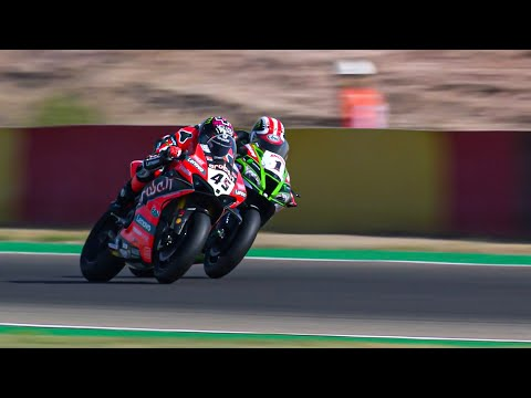 スーパーバイク世界選手権 SBK 第5戦トルエル(アラゴン)スーパーポールレースハイライト動画