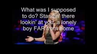 Danielle Bradbery - Maybe it Was Memphis (Lyrics)
