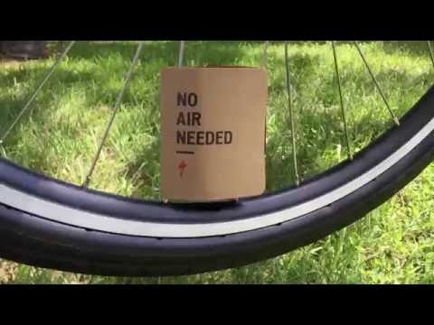 No Air Tires on this New Bicycle